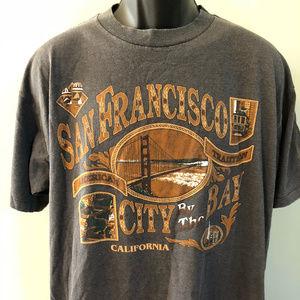 80s San Francisco Shirt California Golden Gate